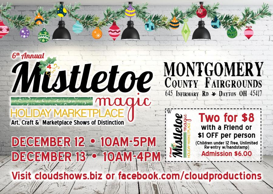 Christmas 2020 Shows Dayton Ohio Mistletoe Magic Holiday Marketplace – Event Center & Exhibit Hall
