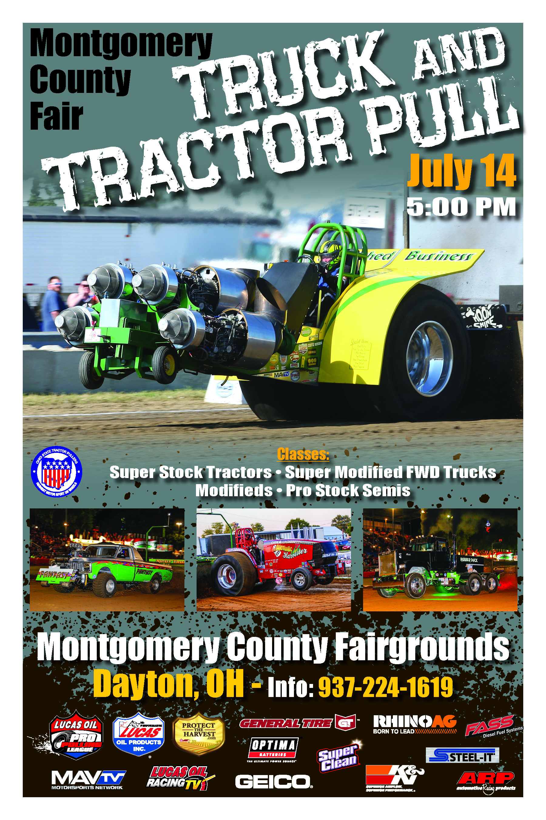 OSTPA Pulls | Montgomery County Fairgrounds