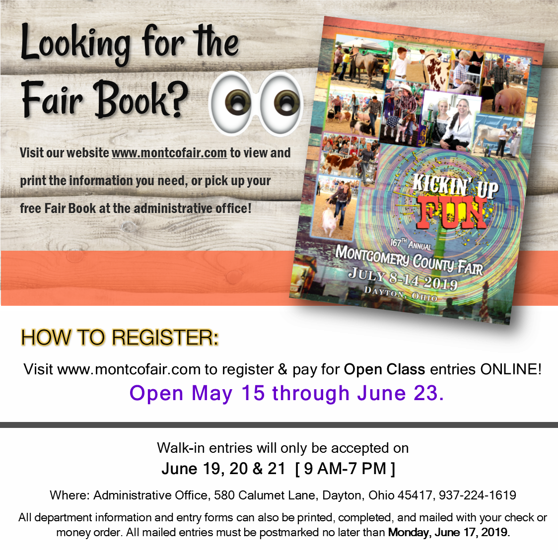 Looking for the Fair Book