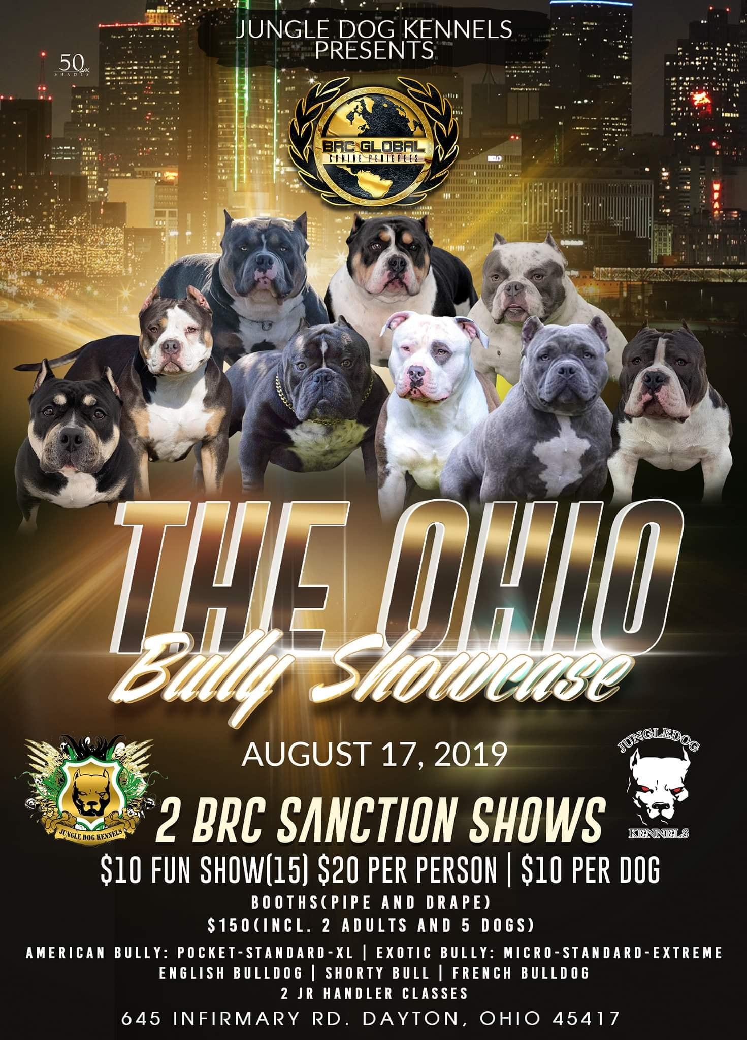 Ohio Bully Showcase – Event Center Bdg 1 | Montgomery County
